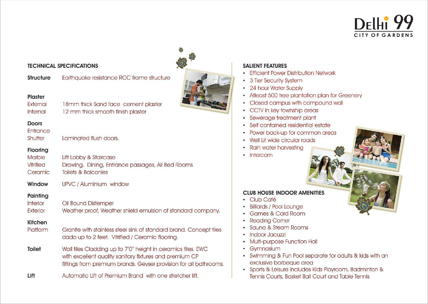 specification delhi99
